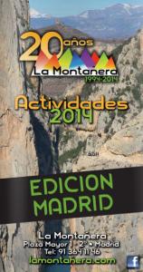 Portada Viajes La Montañera 2014 Edición Madrid